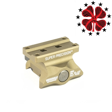 Geissele Automatics Super Precision Mount Desert Dirt Color